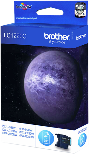 CARTUCHO DE TINTA CIAN BROTHER LC-1220C
