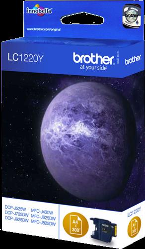 Cartuchos de tinta CARTUCHO DE TINTA AMARILLO BROTHER LC-1220Y