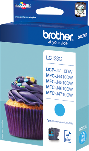 CARTUCHO DE TINTA CIAN BROTHER LC-123C