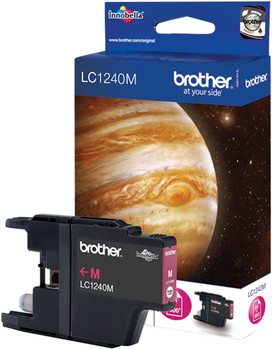 CARTUCHO DE TINTA MAGENTA BROTHER LC-1240M