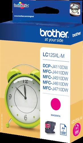 Cartuchos de tinta CARTUCHO DE TINTA MAGENTA BROTHER LC-125