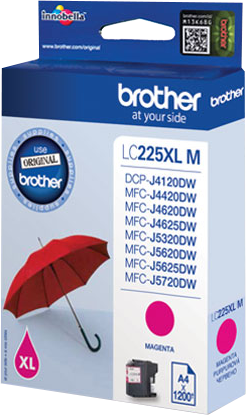 CARTUCHO DE TINTA MAGENTA 11.8 ML BROTHER LC-225