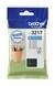 Comprar cartucho de tinta LC3217C de Brother online.