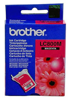 CARTUCHO DE TINTA MAGENTA BROTHER LC-800M