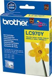 Comprar cartucho de tinta LC970Y de Brother online.