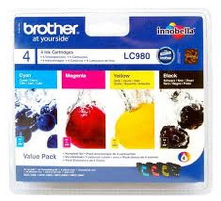 Comprar cartucho de tinta LC980VALBP de Brother online.