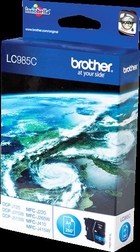 Cartuchos de tinta CARTUCHO DE TINTA CIAN BROTHER LC-985