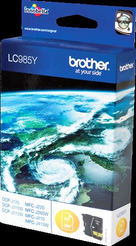 Comprar cartucho de tinta LC985Y de Brother online.