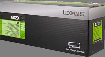 CARTUCHO DE TONER NEGRO RETORNABLE LEXMARK 602X