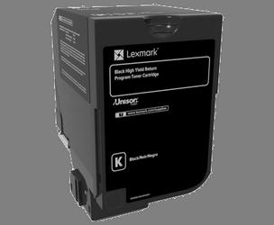Comprar cartucho de toner 74C2HK0 de Lexmark online.