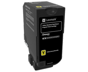 LEXMARK 74C2SY0 KIT DE TÓNER AMARILLO RETURN PROGRAM, 7.000 PÁGINAS ISO/IEC 19798 PARA CS 720 SERIES/CX 720 SERIES