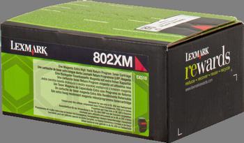 Comprar cartucho de toner 80C2XM0 de Lexmark online.