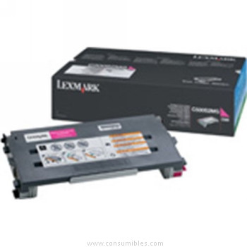 CARTUCHO DE TONER MAGENTA para Lexmark C500