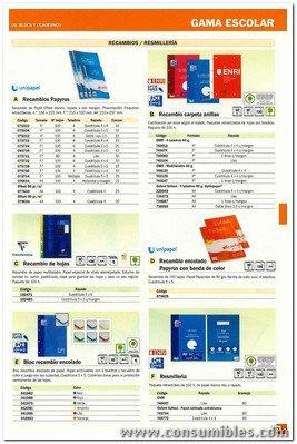 OXFORD RECAMBIO DE PAPEL 80H A4 CUADRICULA 5X5 AMARILLO 100103583