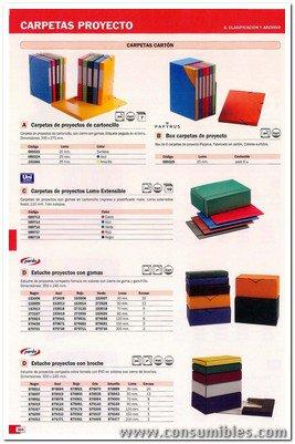 Comprar Carpetas proyecto carton 089346(1/7) de Unisystem online.