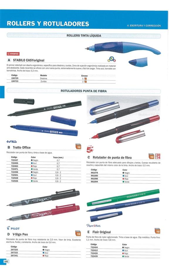 ROTULADOR PUNTA DE FIBRA NEGRO 961078