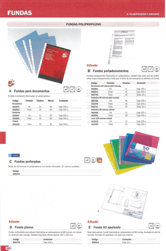VIQUEL FUNDAS A4 106050-06