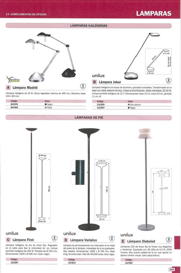 UNILUX LÁMPARA LED DIABOLED 48 LEDS DE 0.4W PLATA-BLANCO BRAZO FIJO 400035993