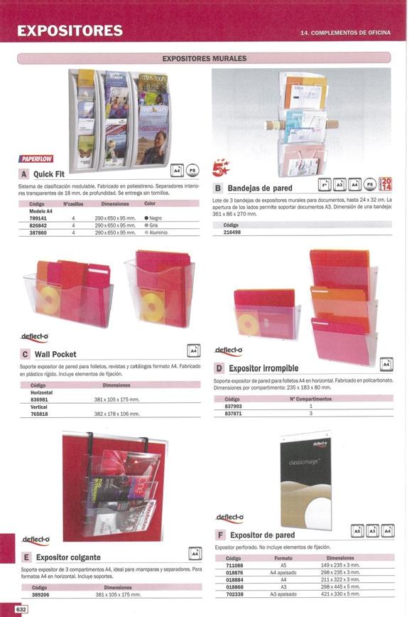 5 ESTRELLAS EXPOSITORES PARED 3 UD 361X86X270 A4/A3 1001780111