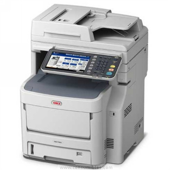 Impresoras láser o led IMPRESORA MULTIFUNCIÓN OKI LASER LED COLO MC760DNVFAX