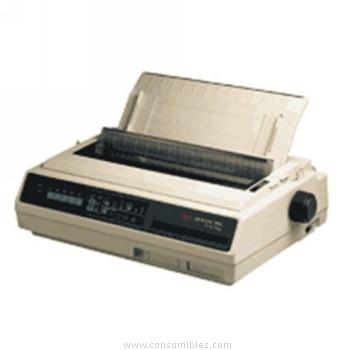 Impresoras matriciales blanco y negro IMPRESORA OKI MATRICIAL ML-395