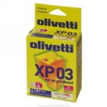 CARTUCHOS DE TINTA 4 COLORES HIGH OLIVETTI para XP 03