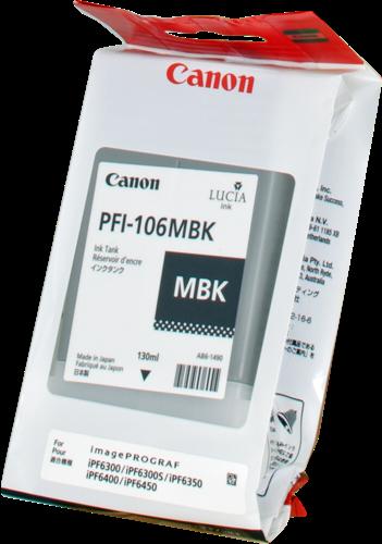 Cartucho de tinta CARTUCHO DE TINTA NEGRO MATE 130 ML CANON 6620B001