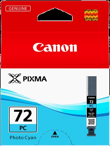 CARTUCHO DE TINTA FOTO CIAN 14 ML CANON PGI-72