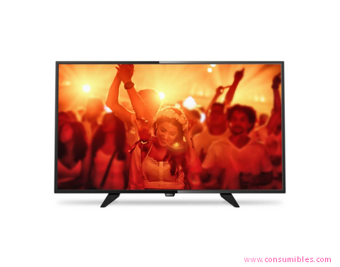 TELEVISOR LED PHILIPS 4000 SERIES TELEVISOR LED FULL HD ULTRAPLANO (40PFH4101/88)