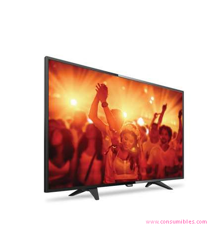 TELEVISOR LED PHILIPS 4000 SERIES TELEVISOR LED FULL HD ULTRAPLANO (40PFH4101/88)