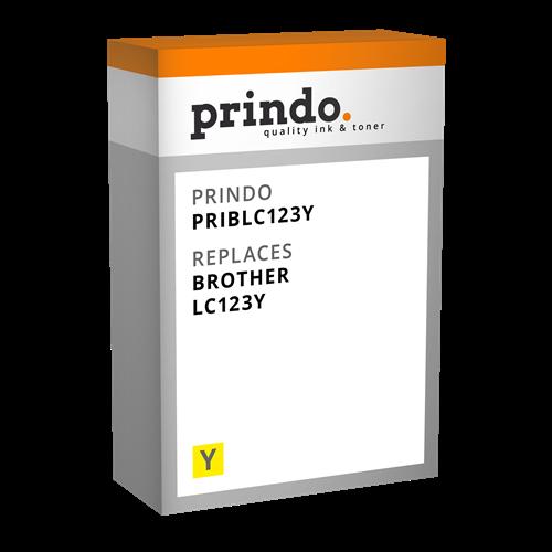 Comprar Cartucho de tinta PRIBLC123Y de Prindo online.