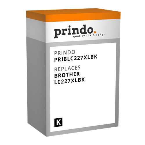Comprar Cartucho de tinta PRIBLC227XLBK de Prindo online.