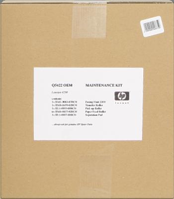 Comprar kit de mantenimiento Q5422A de HP online.