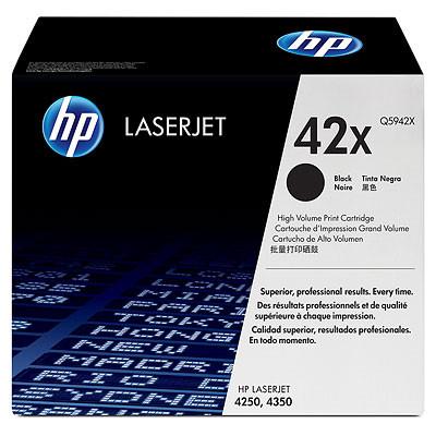 Comprar cartucho de toner alta capacidad Q5942X de HP online.