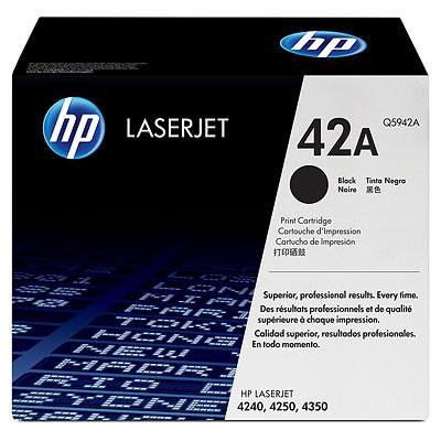 Comprar cartucho de toner Q5942XD de HP online.