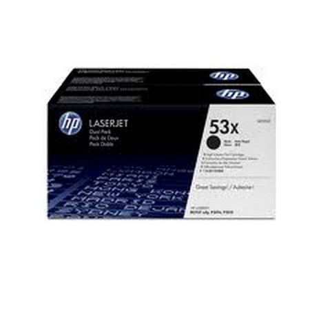 Comprar pack 2 cartuchos de toner Q7553XD de HP online.