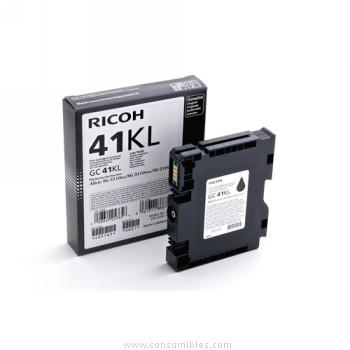 Cartucho de gel negro Ricoh GC41BK
