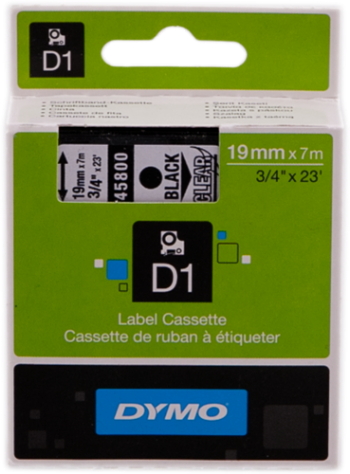 Comprar Cinta rotuladora D1 19 mm S0720820 de Dymo online.