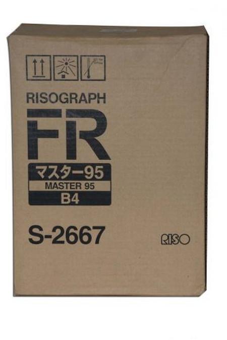Comprar pack 2 masters multicopista S2667 de Riso online.