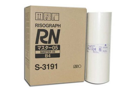 Comprar pack 2 masters multicopista S3191 de Riso online.