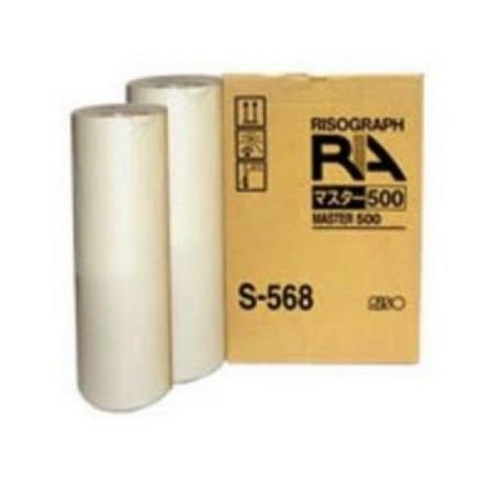 Comprar pack 2 masters multicopista S568 de Riso online.
