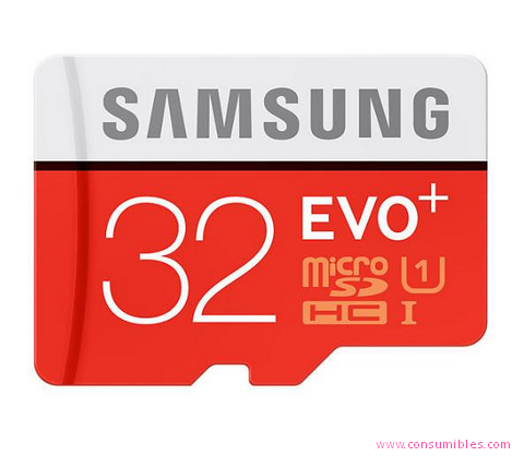 MicroSDHC MEMORIA FLASH SAMSUNG MB-MC32D 32GB MICROSDHC UHS CLASS 10 MEMORIA FLASH (MB-MC32DA/EU)