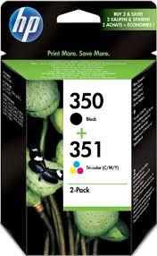 Cartucho de tinta CARTUCHOS DE TINTA COMBO PACK Nº 350 Nº 351 HP Nº 350+351