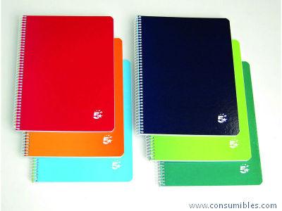 Comprar Cuadernos con espiral 932052 de 5 Star online.