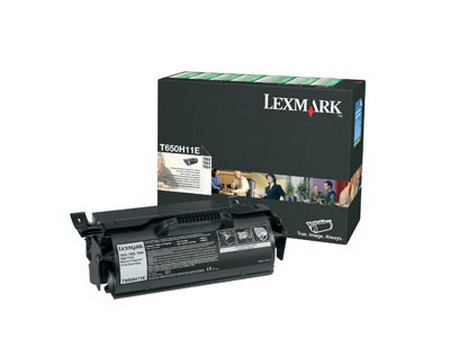 Comprar cartucho de toner T650H11E de Lexmark online.