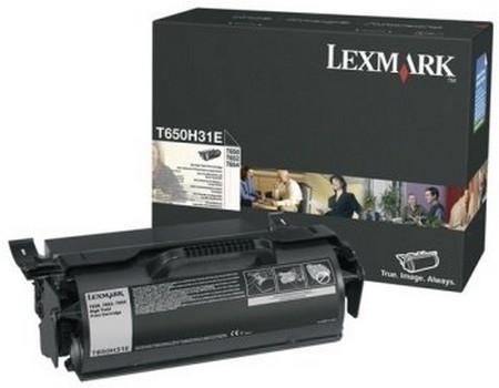 Comprar cartucho de toner T650H31E de Lexmark online.