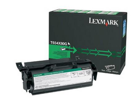 Comprar cartucho de toner T654X80G de Lexmark online.