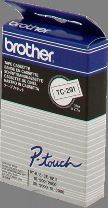 Comprar Cinta rotuladora 9mm TC291 de Brother online.