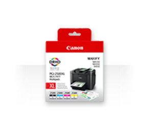 9254B004|PGI-2500 XLBKCMY Cartucho de tinta multi pack Bk C M Y Contenido 70 9ml + 3x19 3ml para Maxify iB 4020/4050/MB 5000 series/5020/5050/5320/5350