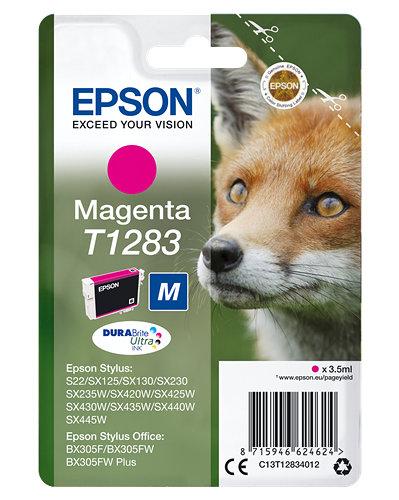 Cartucho de tinta magenta C13T12834012 T1283 140 páginas 3.5ml